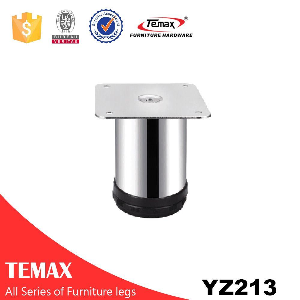 YZ213 Stout Chrom Möbelbein Metall Sofa Füße