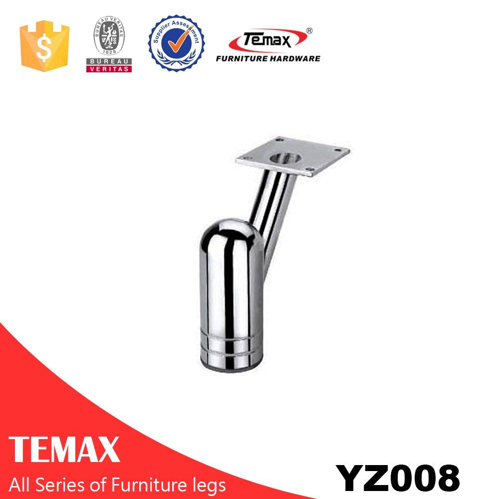YZ008 wholesale furniture sofa leg in metal steel