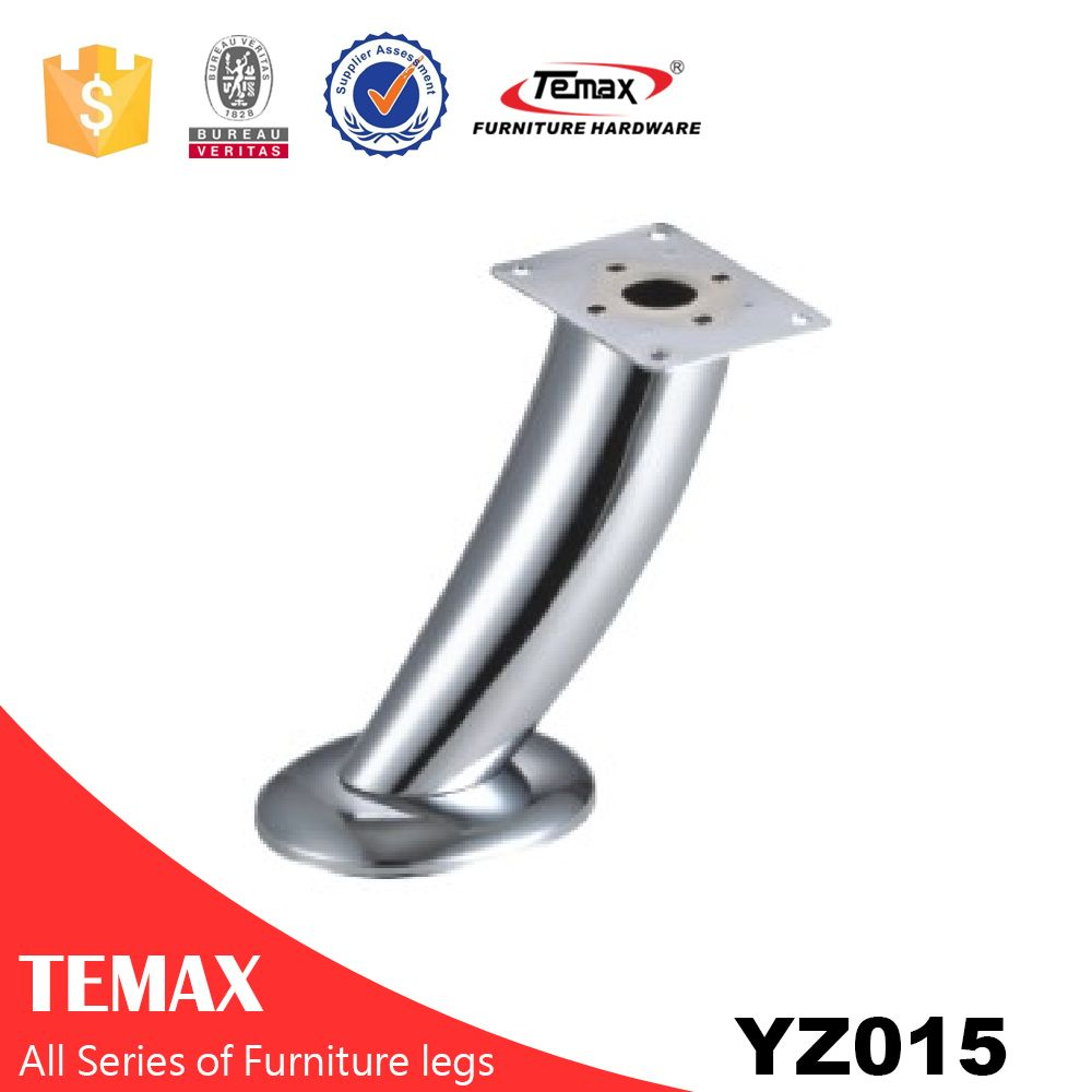 YZ015 chrome metal furniture table legs