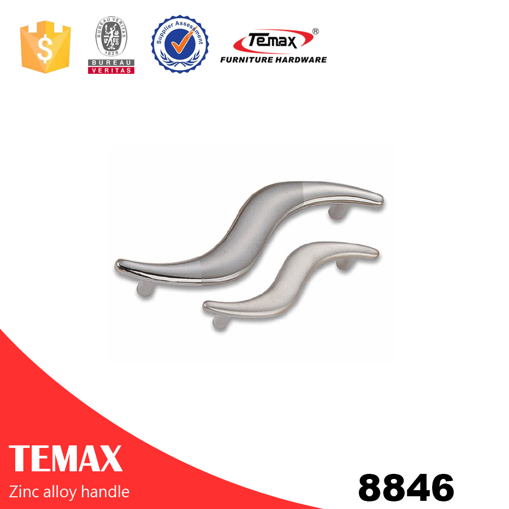 zinc alloy pull handle pull for kitchen cabinet