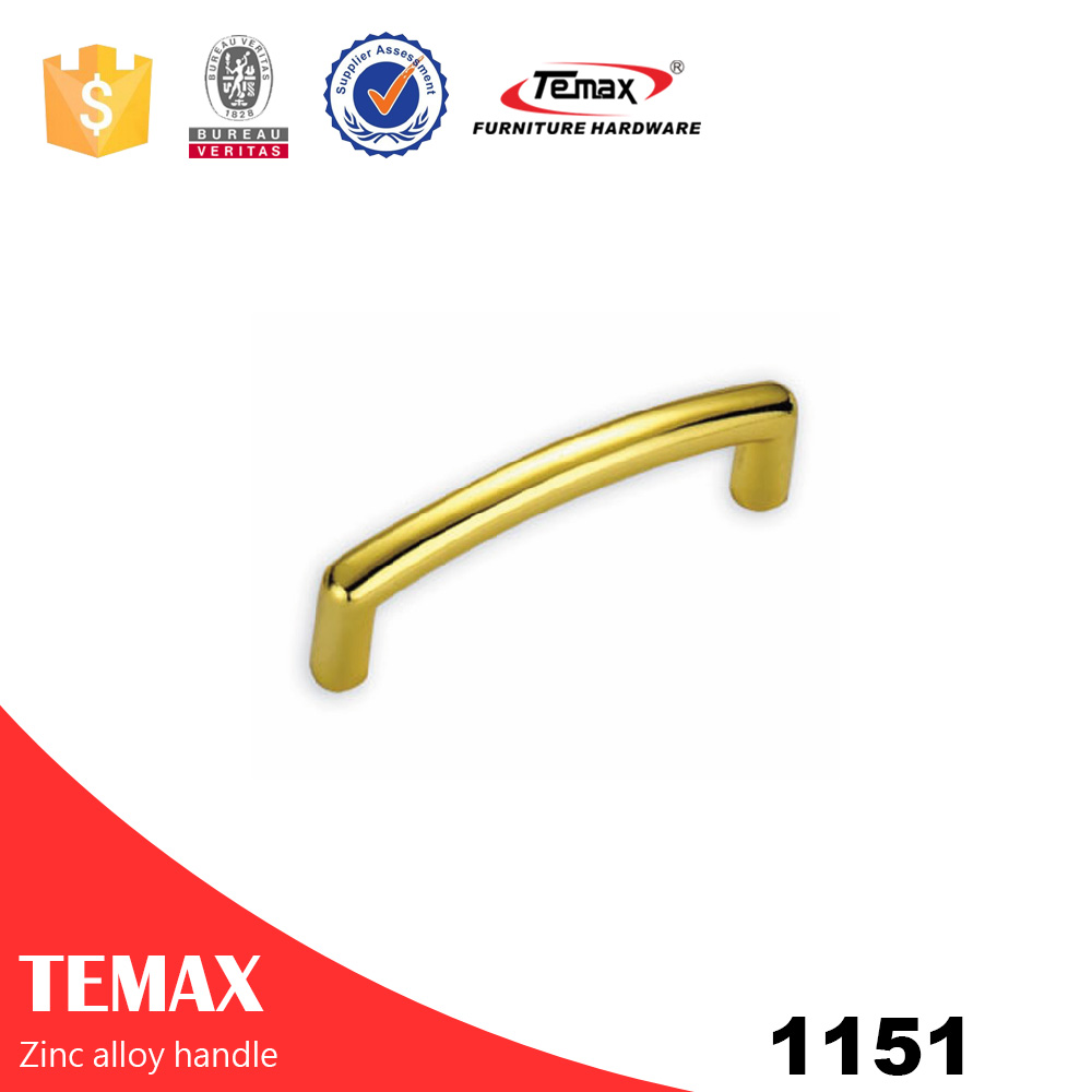 1151 Well made zinc alloy handle for furniture drawer