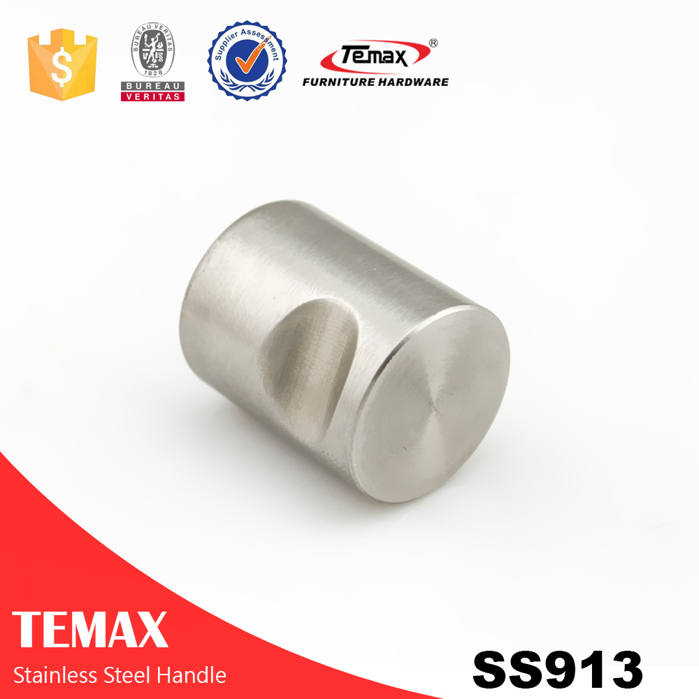 SS913 Hot selling solid steel brushed oxidation t pull handle