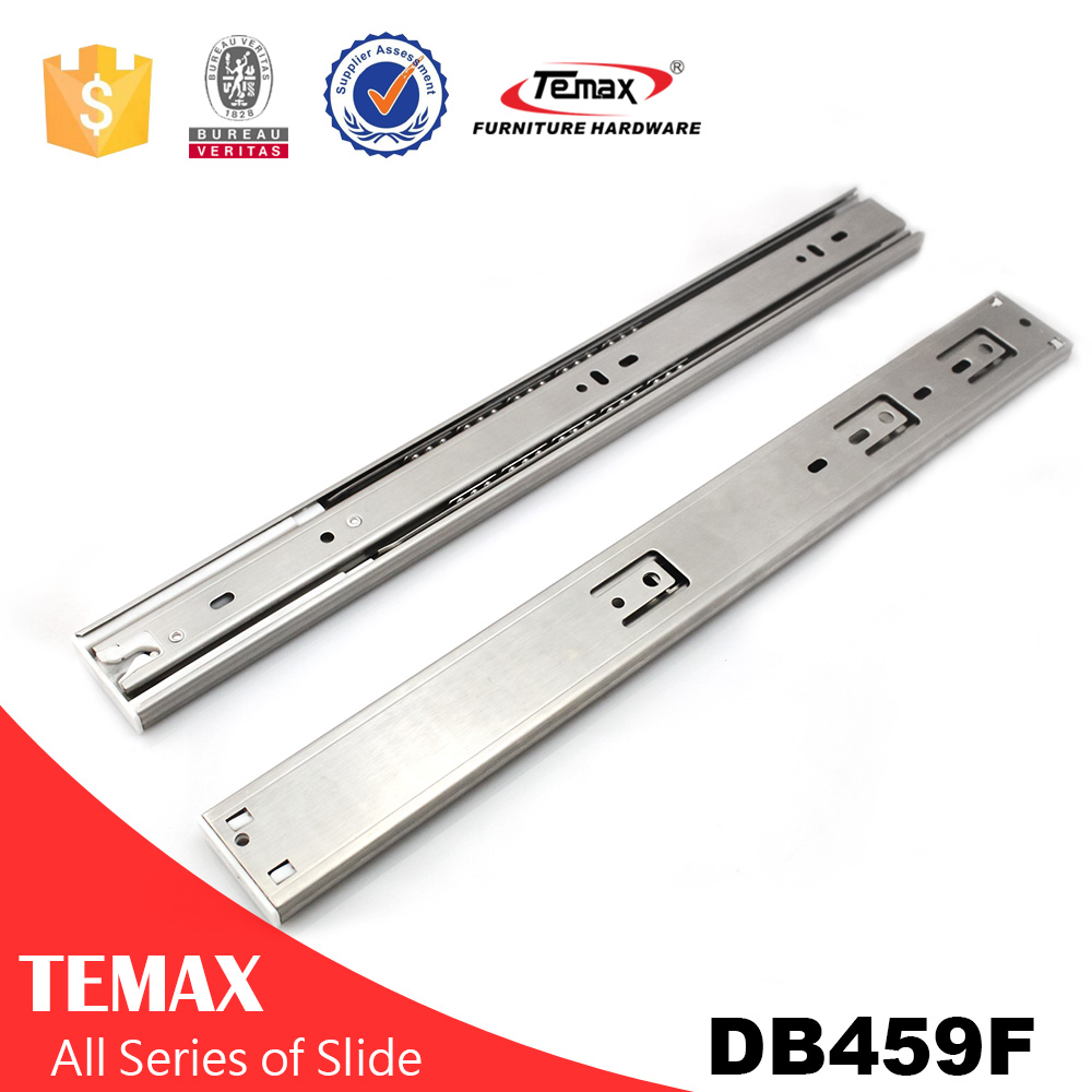 DB459F 45MM Stainless steel Soft Close Drawer Slide