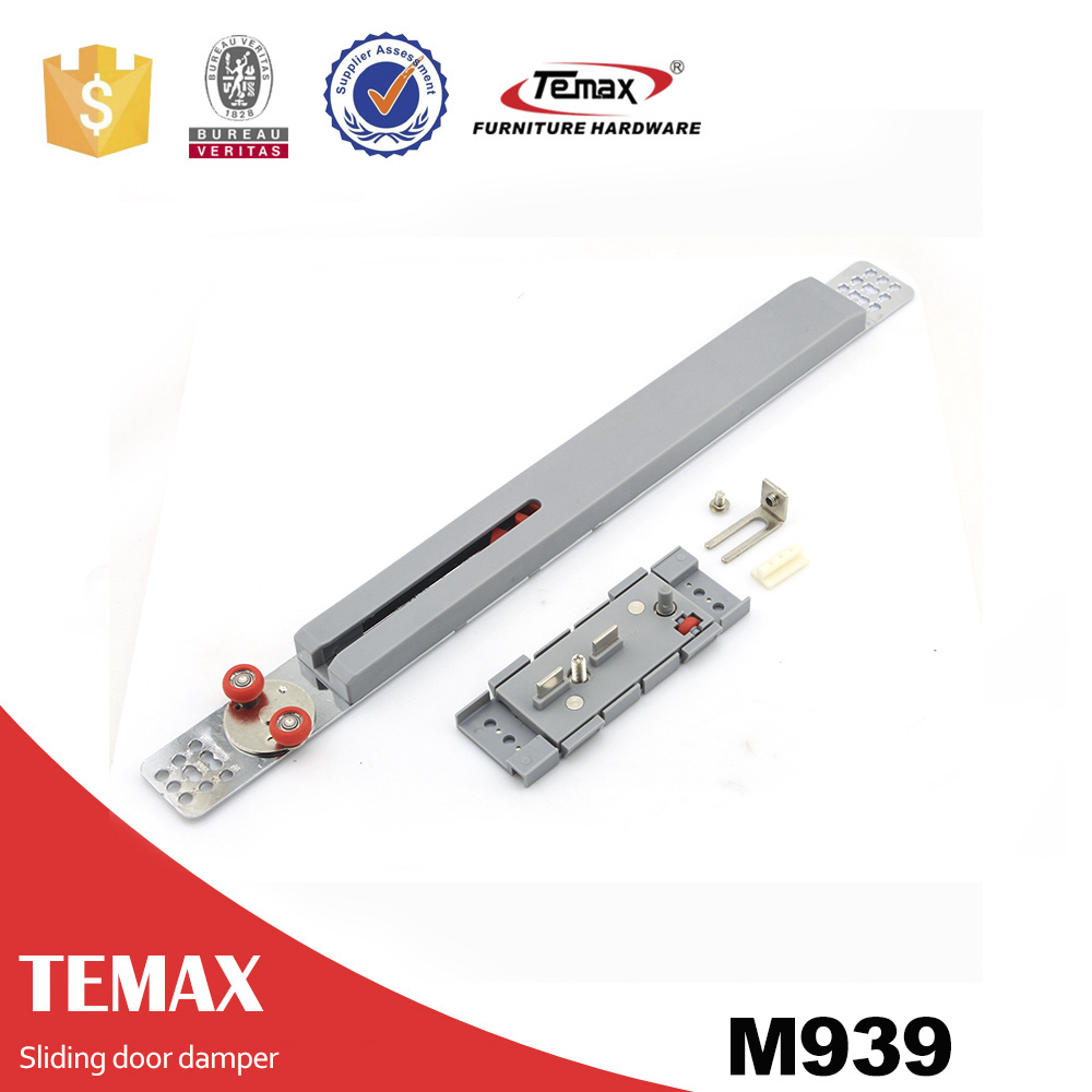 Temax furniture hardware soft close sliding door damper