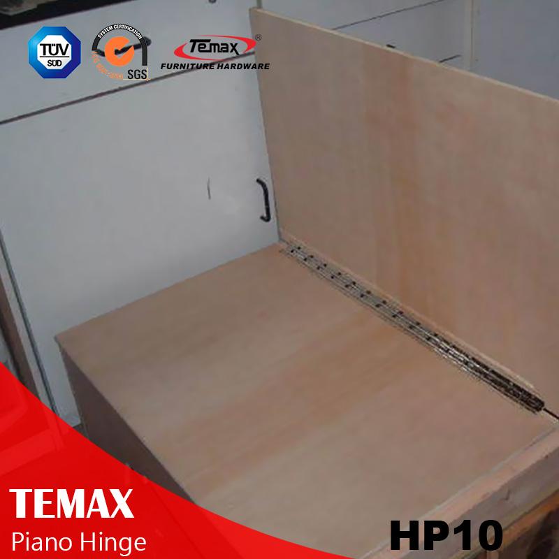 HP10 الفولاذ المقاوم للصدأ المستمر المفصلي بيانو