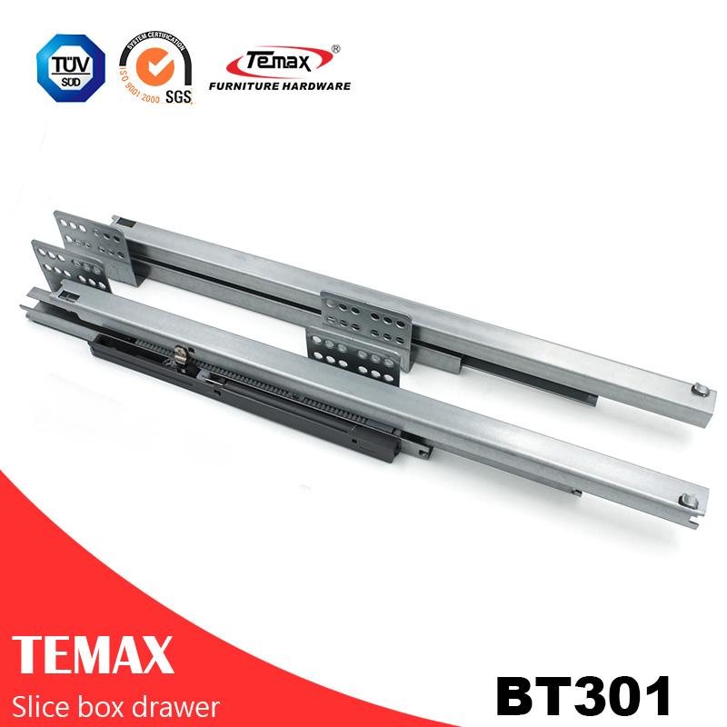 BT301 نازک ابزار جعبه Slimilar سیستم کشو