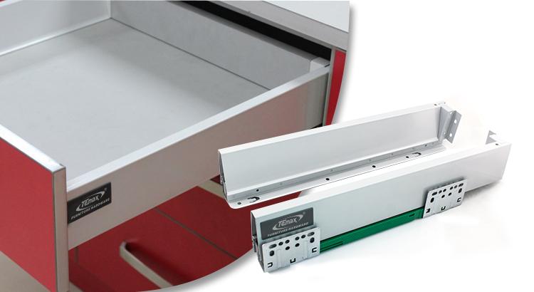 BN301 kitchen cabinet metal drawers slide hot sale