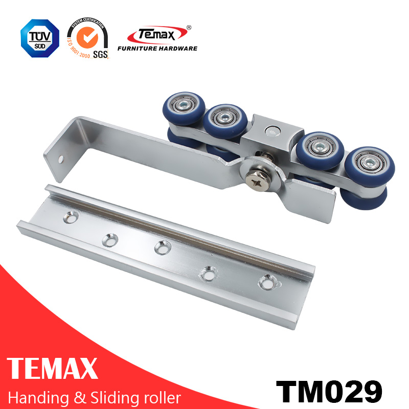 TM029 Interior Sliding Hanging Pocket Door Hardware Rollers