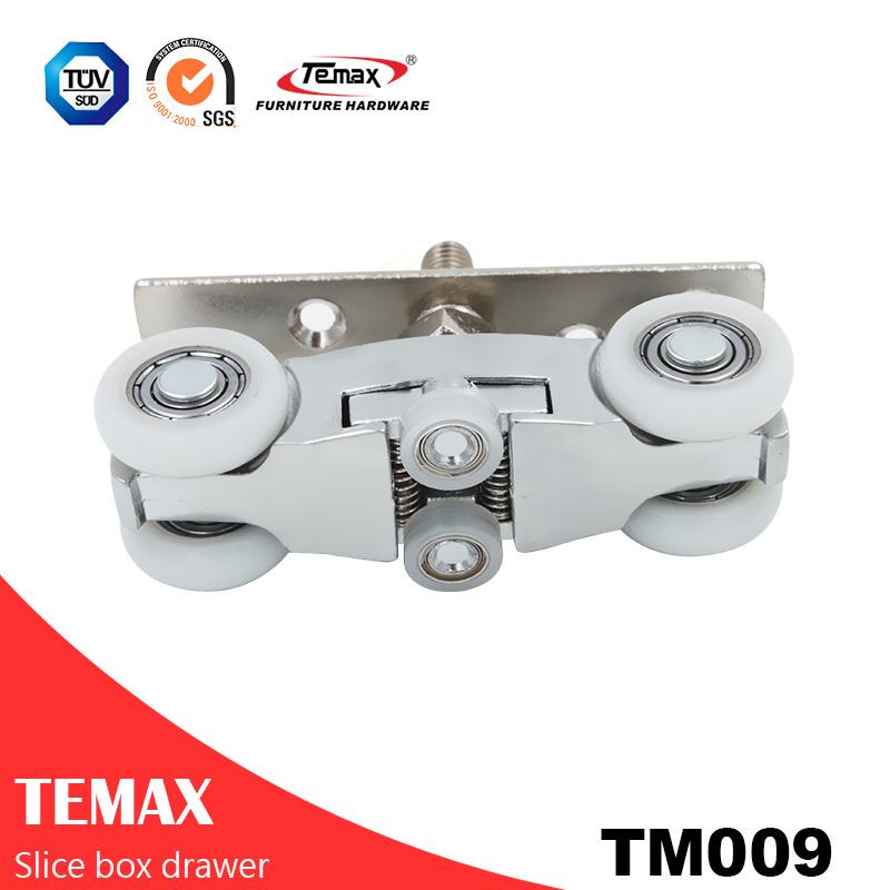 TM009 Hängetasche Schiebetür Gleis System Rolle
