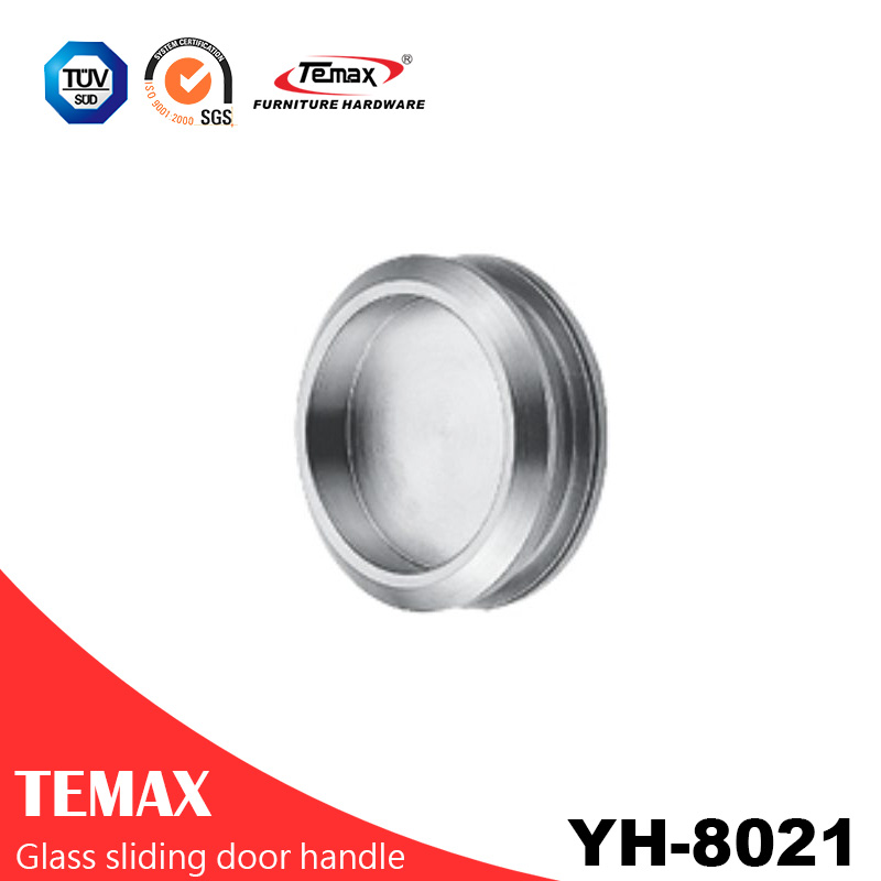 High quality circular sliding glass door handle