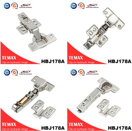 HBJ178Top فروش ترکیه پنهان فولاد لولا جعبه لولا