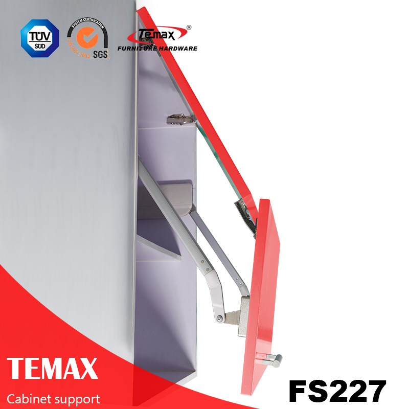 FS227 Fold soft close cabinet support
