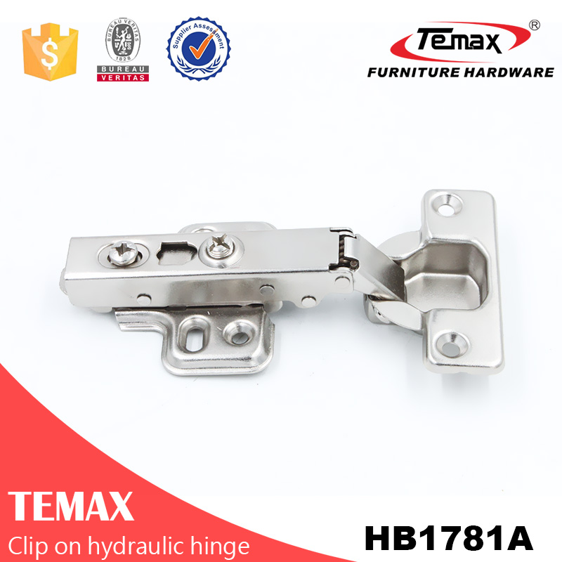 Temax HB1781 clip on hydraulic concealed hinge