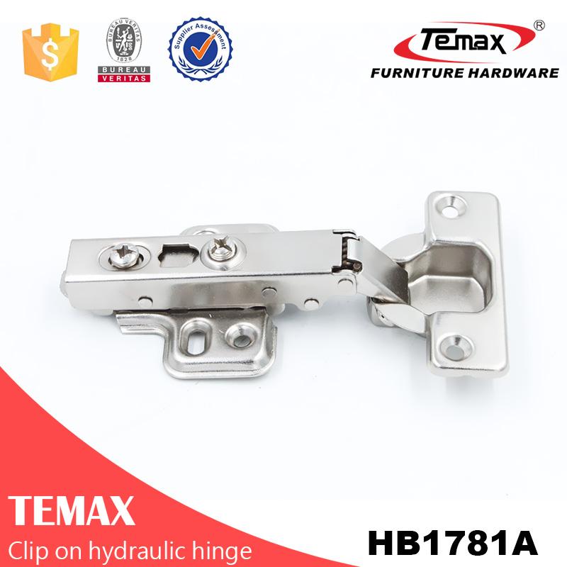 Temax HB1781 Clip auf hydraulischem verdecktem Scharnier