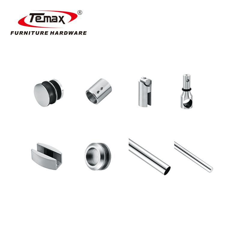 SS304 Stainless Steel Glass Door fittings