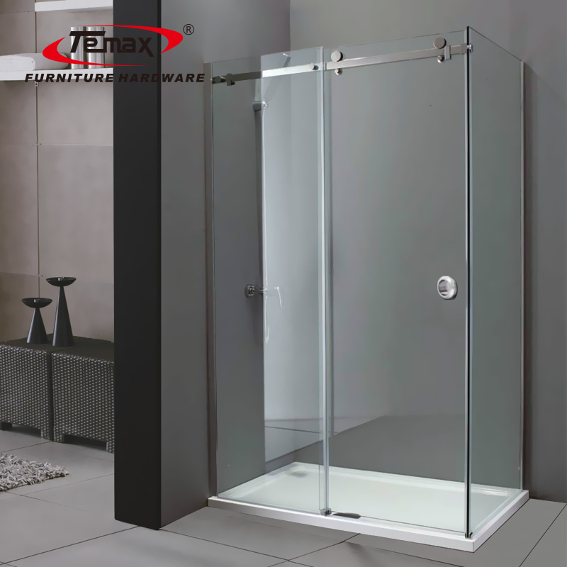 الحمام الفولاذ المقاوم للصدأ انزلاق الأبواب المنزلقة