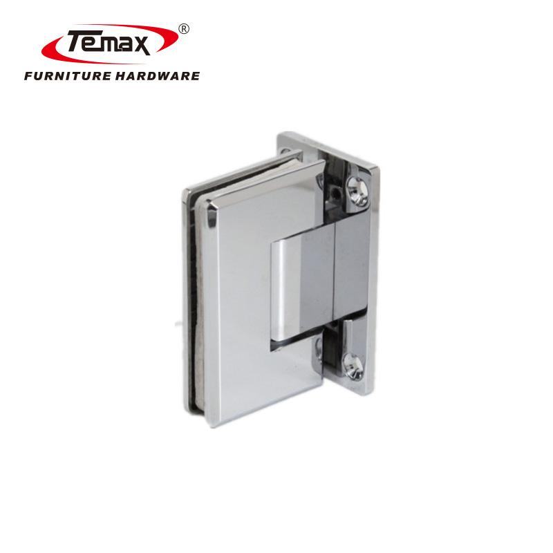 تيماكس 90 درجة مربع من الزجاج حديدي مشبك