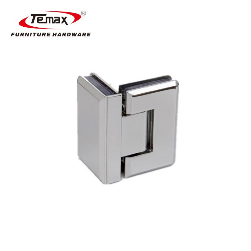 TEMAX المقاوم للصدأ والزجاج الصلب الباب عقد المشبك