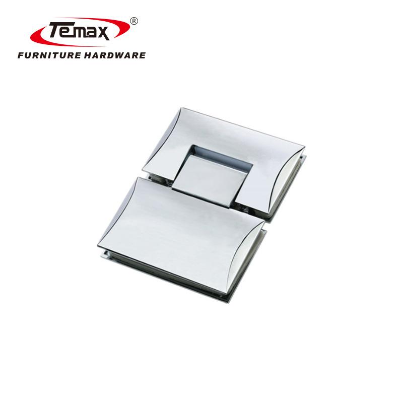 180 Grad Doppelseiten konvexes Glasduschtürscharnier