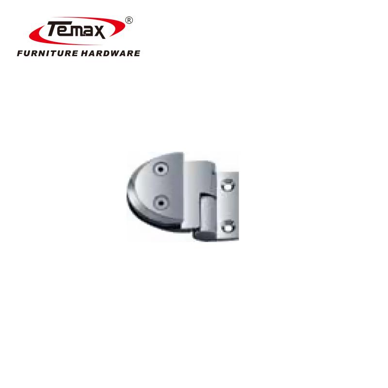 TEMAX Zinklegierung Glastürscharnier, Glas-zu-Wand-Fixklemme