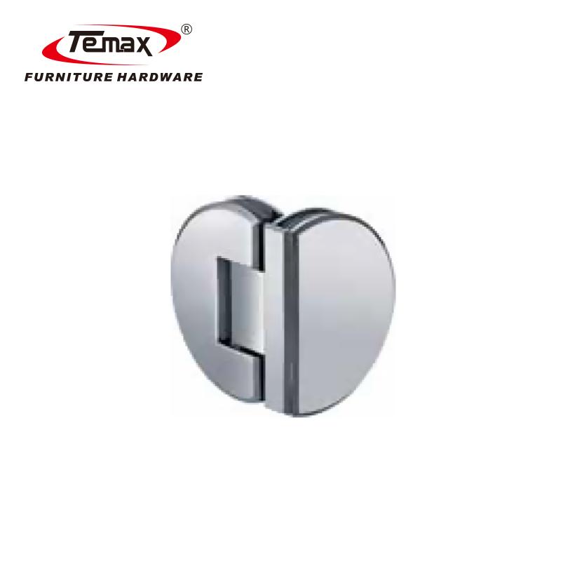 Temax 10 yeas إنتاج الفولاذ المقاوم للصدأ سوينغ زجاج الباب المفصلي