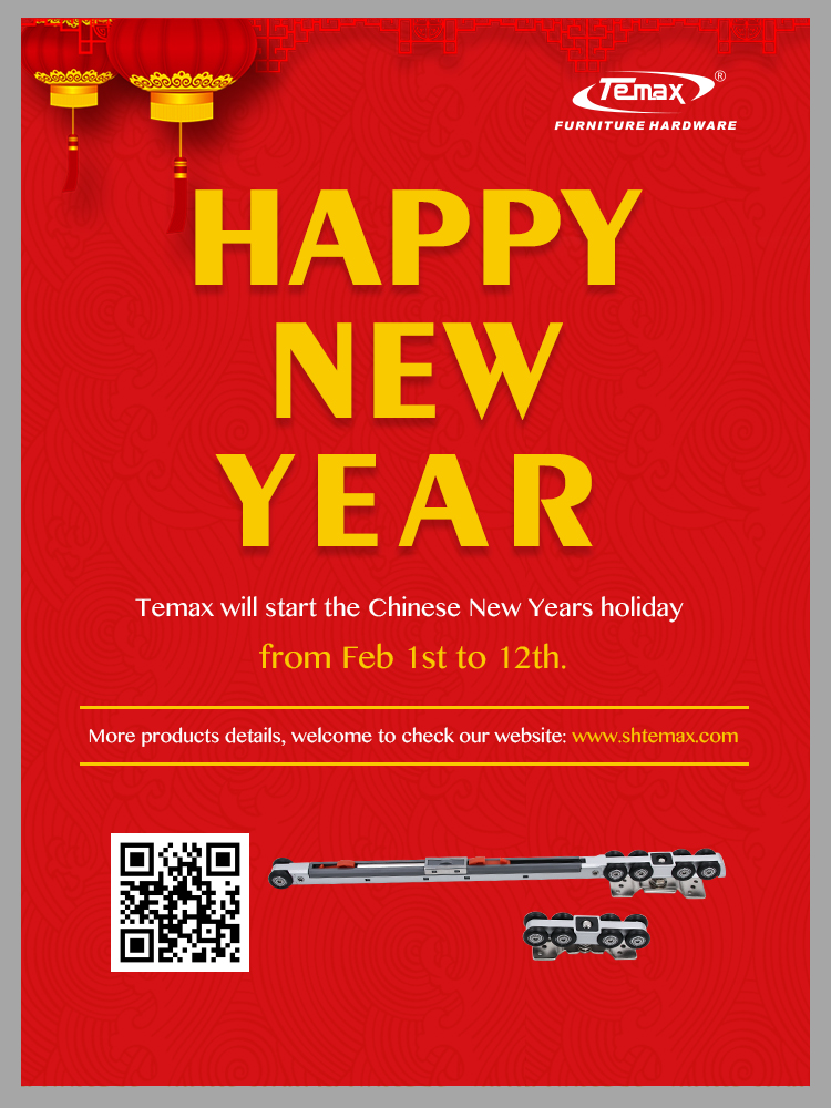 Temax will start the Chinese New Years holiday