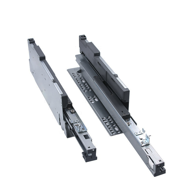 TEMAX China undermount push open& soft close concealed drawer slide