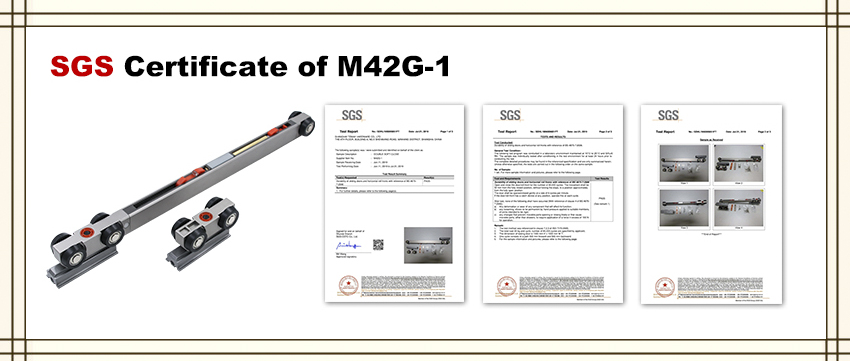 SGS Test Report of M42G-1
