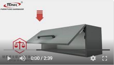 Verwendung von TEMAX FS100 Lid Stay Schrank-Unterstützungssystem?