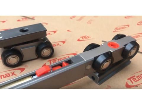 슬라이딩 도어 시스템-슬라이딩 도어 댐퍼 70.000time