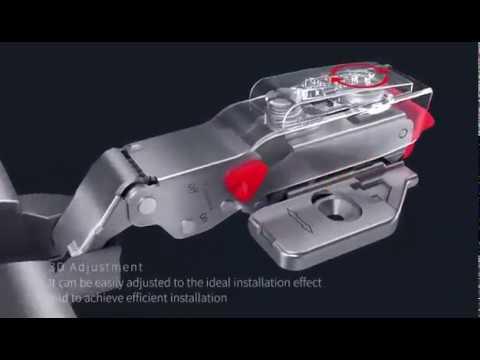 Timos series:high quality hydraulic hinge