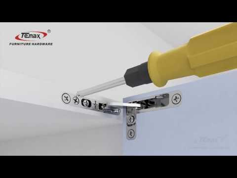 TEMAX | COPAD series door sky hinge HB310 lightness and functionality