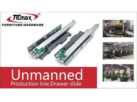 Unmanned production line Telescopic Channel Drawer Slide TEMAX
