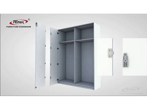 كيف تستخدم لخزانة TEMAX للطي انزلاق الباب RollerTM301-الإنجليزية