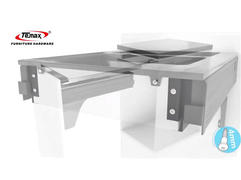 How about TEMAX Trash Bin for Kitchen Design with Soft Close drawer