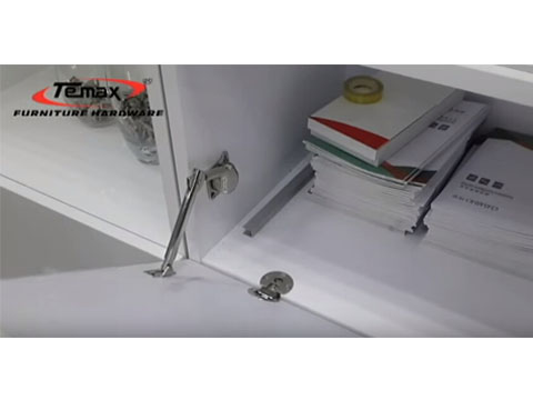 Temax Soft Closing Hydraulic Support for Furniture Cabinet