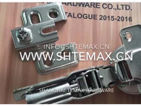 HBE08 Two Way Slide On Hydraulic Concealed Door Hinge