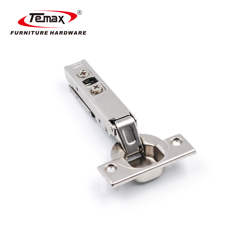 Slim Plate 3D Adjustable Clip-On Small Angle Soft Closing Hydraulic Hinge HB1871