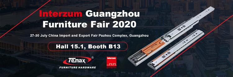 Temax Hardware - Interzum Guangzhou Furniture Fair 2020