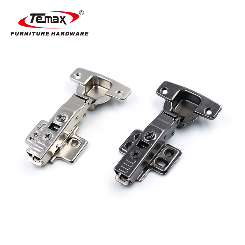Gun Black Color Imported POM Pressed-in Cylinder Hydraulic Hinge High Quality Cabinet Hinge 2020 Temax HB127