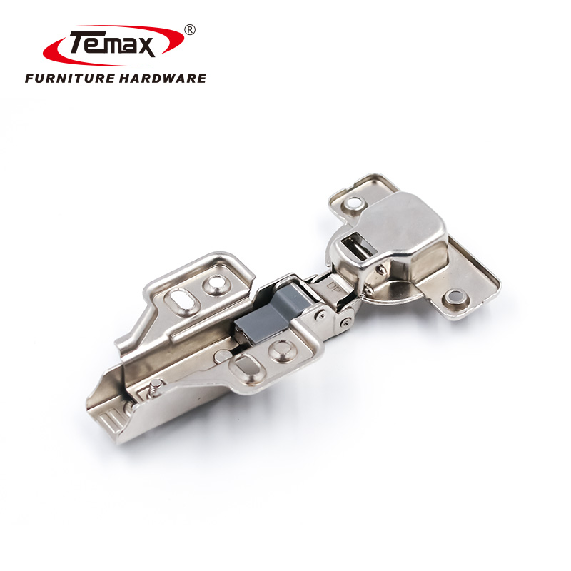 Fixed Plate Small Angle Soft Close Cabinet Hinge Mini Buffer Hydraulic Hinge HBE31