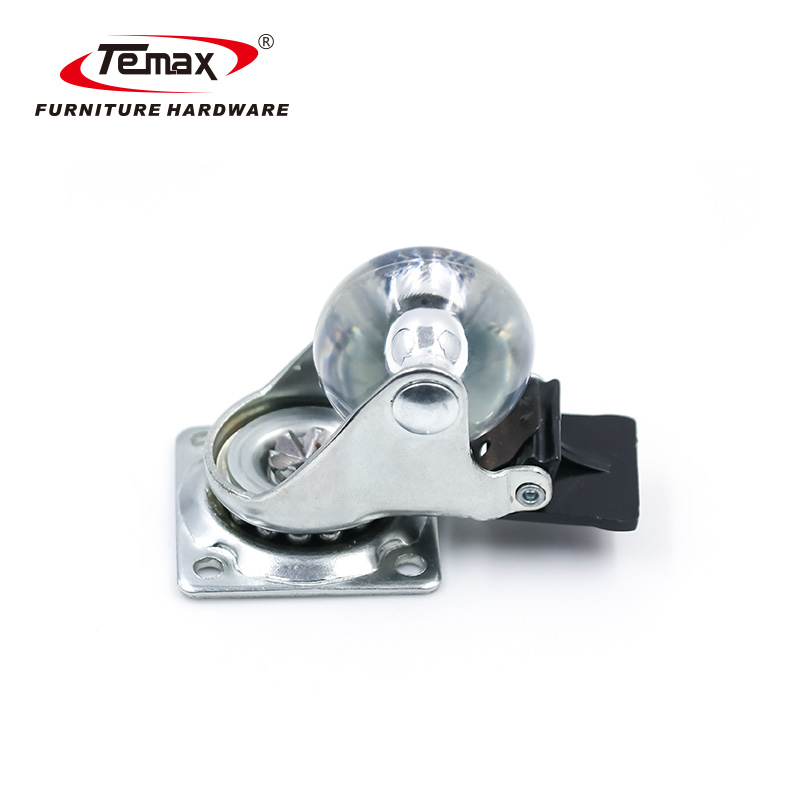 Omni-Directional Furniture Caster with Brake 1.5/2/3/4 inch P-TP50-WC