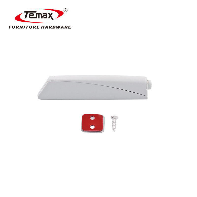 Temax Magnetic Door Latch Cabinet Plastic Kitchen Push To Open System PM24