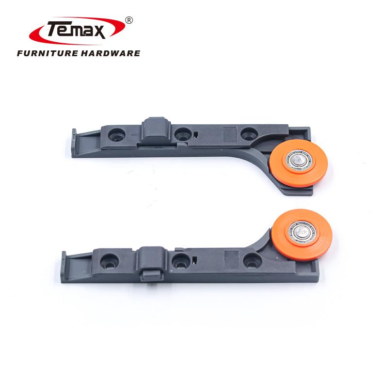 Temax Thin Door Wardrobe Concealed Sliding Door Roller Soft Closing System MFL21